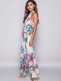 Tropical print ολόσωμη φόρμα!