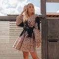 Mini φόρεμα με λαχούρια!