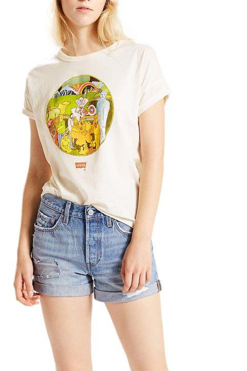 Γυναικείο LEVI'S® The authentic vintage graphic t-shirt