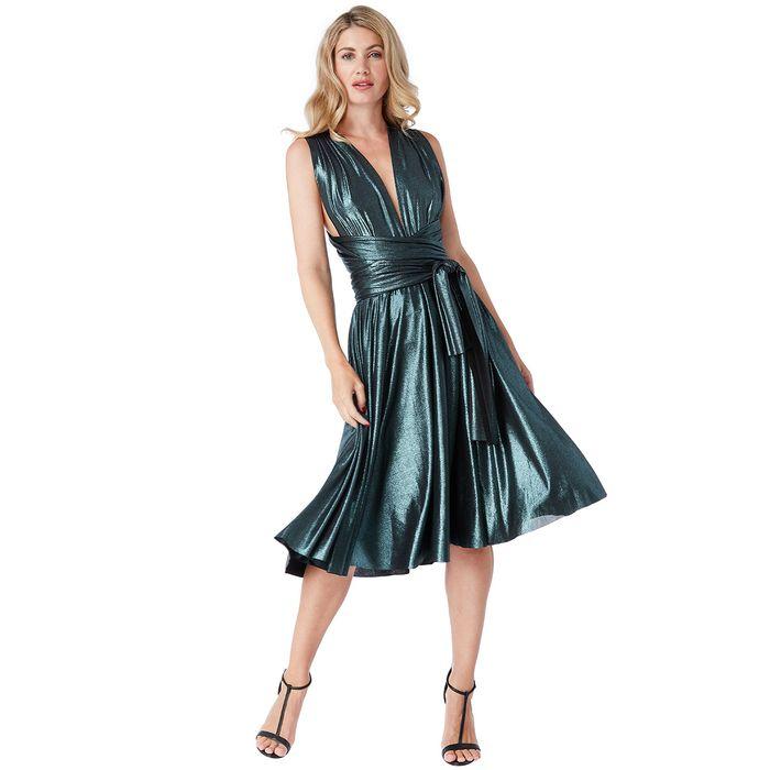 metallic multiways glam 50s φόρεμα Marilyn