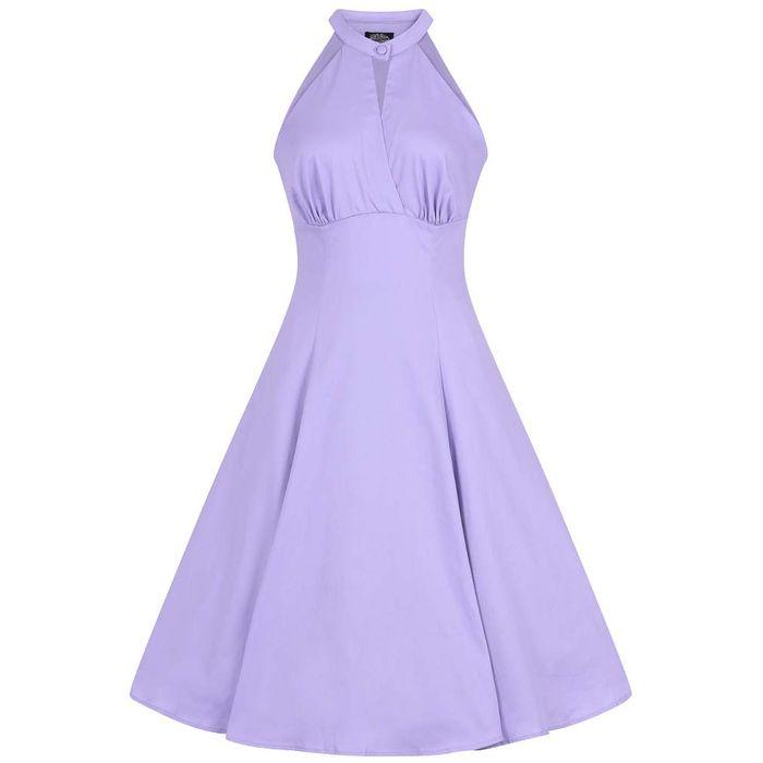 vintage φόρεμα swing Lucinda lavender