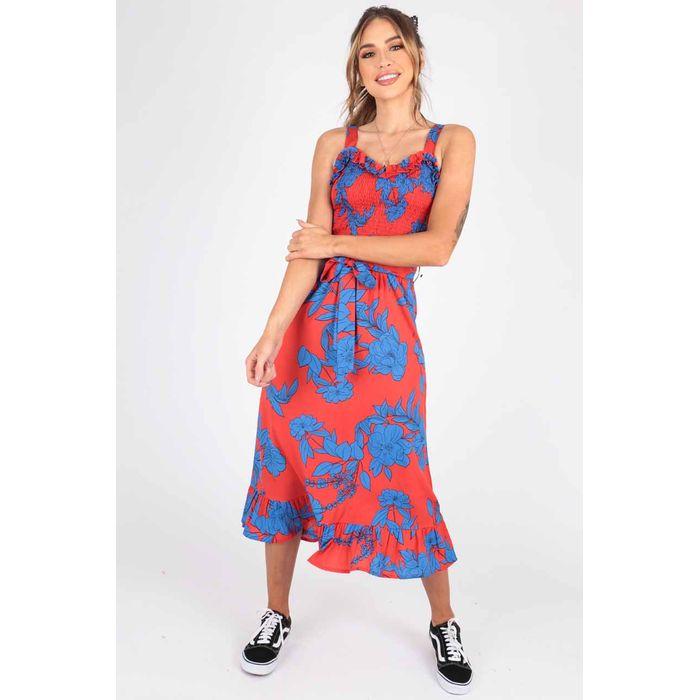 vivid floral summer φόρεμα take me to Rio