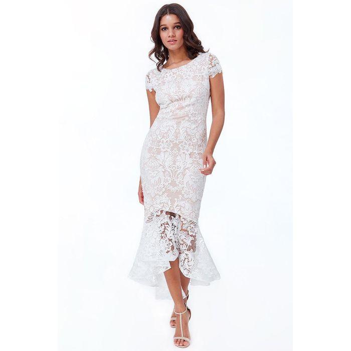 bridal high low φόρεμα Roxanne