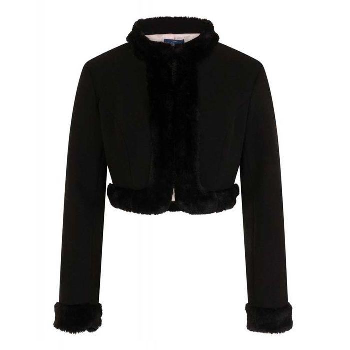 vintage cropped jacket μπολερό fur Martia