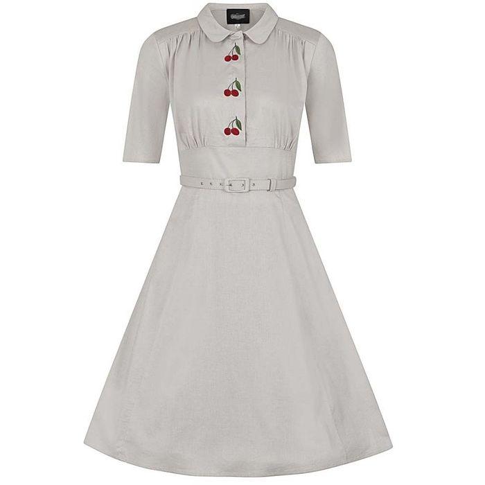 vintage 40s sophisticated φόρεμα Cherry