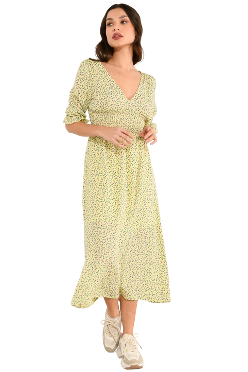 Φλοράλ φόρεμα (MULTI)