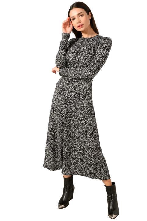 Μάξι φλοράλ φόρεμα (MULTI)