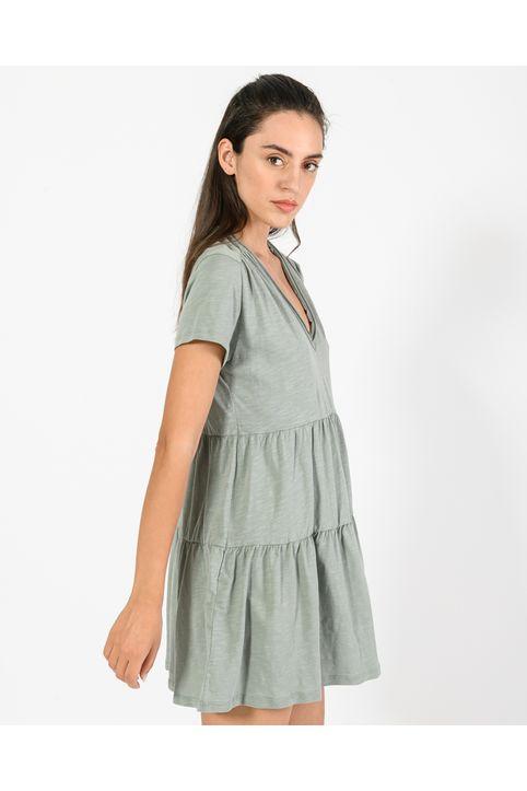 Μίνι φόρεμα (KHAKI)