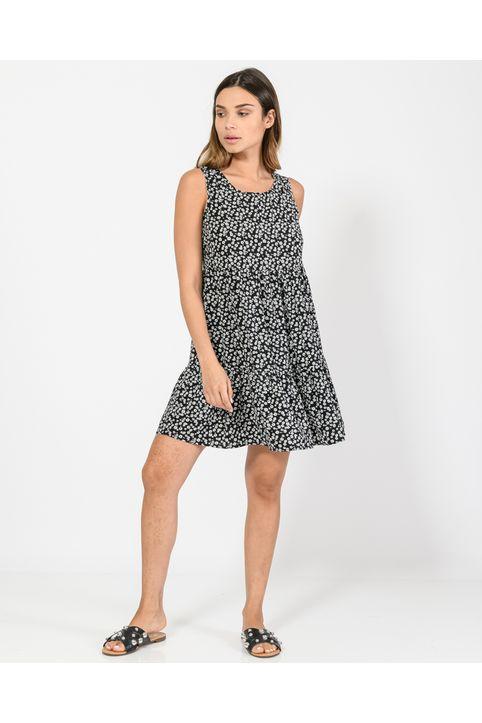 Μίνι φλοράλ φόρεμα (MULTI)