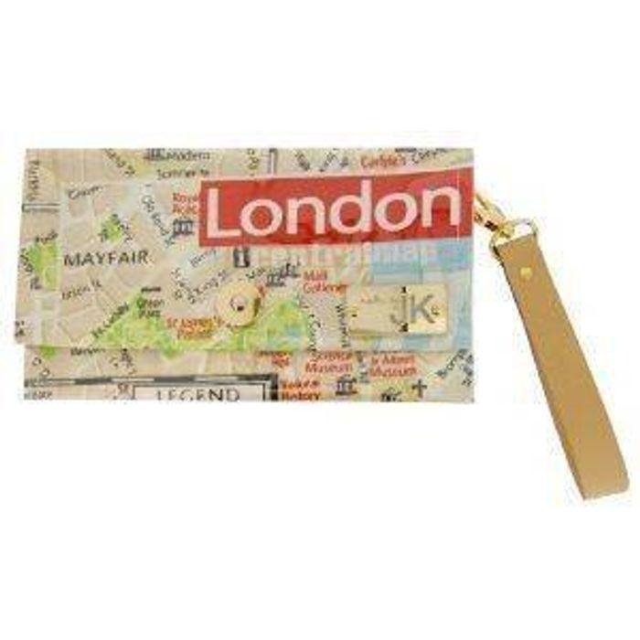 ΧΕΙΡΟΠΟΙΗΤΗ ΤΣΑΝΤΑ ΦΑΚΕΛΟΣ MADE BY JK LONDON MAP