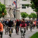 Slovenci na biciklima ponovo protestovali protiv vlade