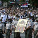 Veliki broj Beograđana na spasovdanskoj litiji i molebanu