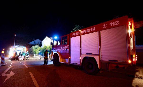 Vier Verletzte und 45.000 Euro Schaden nach Brand in Pforzheim - Pforzheim - Pforzheimer-Zeitung
