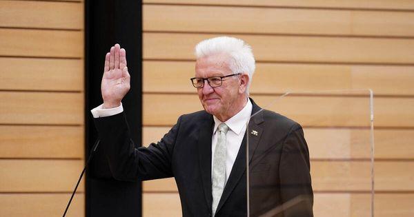 Baden-Württembergs Ministerpräsident Kretschmann wiedergewählt - Baden-Württemberg - Pforzheimer-Zeitung