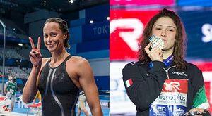 """«Pilato? La nuotatrice più forte»: il """"battesimo"""" di Federica Pellegrini. E sull'Olimpiade: «Ha 16 anni e tutto il tempo, si rifarà»"""