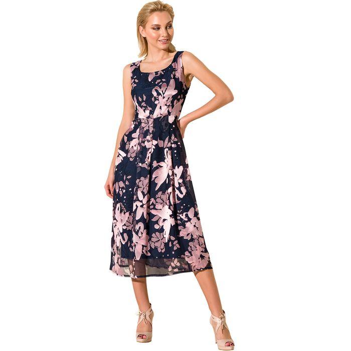 Εντυπωσιακό κοκτέιλ φλοράλ φόρεμα