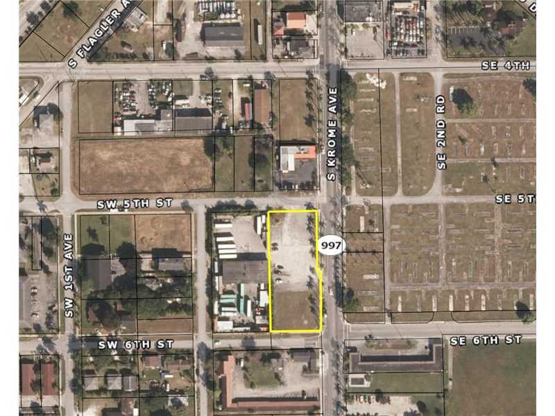 Bank Owned Commercial Parcel In Homestead.