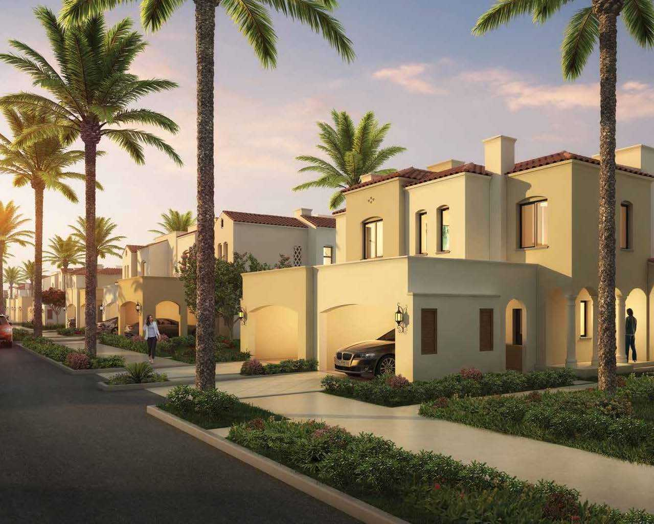 2 Bedroom Townhouses - Middle With Maid Room - Casa Viva At Serena  For Sale