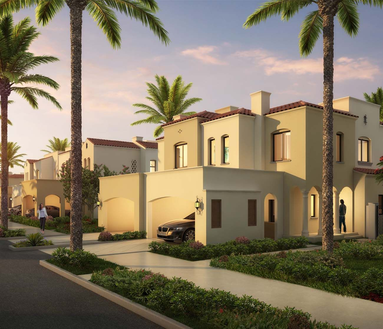 3 Bedroom Townhouses – Middle  - Casa Viva at Serena - For Sale