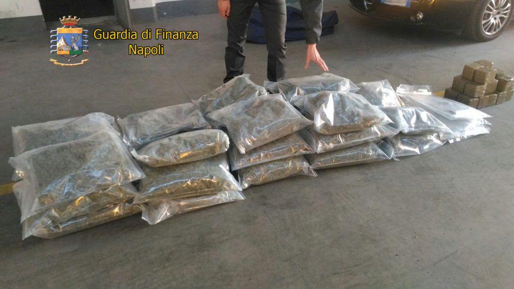 Fermato con oltre 50 kg di marijuana ed hashish in auto: in manette medico di Castellammare di Stabia | Report Campania