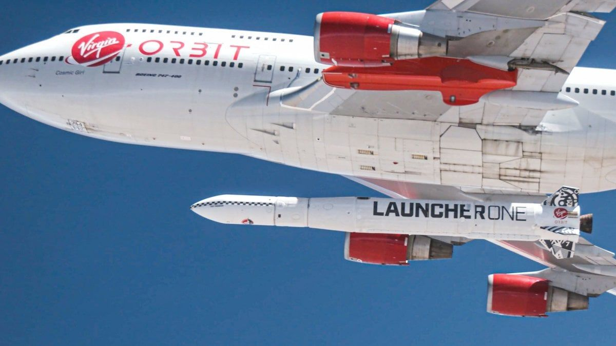Virgin Orbit lancio fallito Musk dura andare orbita