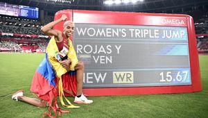 Yulimar Rojas oro nel salto triplo, primato del mondo abbattuto dopo 26 anni