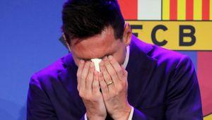 Messi, pianto d'amore o soltanto di nostalgia