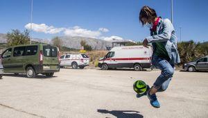 Una squadra in Italia per le calciatrici di Herat.  La Federazione calcetto le