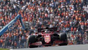 Zandvoort, venerdì rosso Ferrari: Leclerc il più veloce davanti a Sainz, Hamilton ko