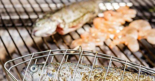 So gelingt das Grillen von Fisch und Garnelen - Ernährung