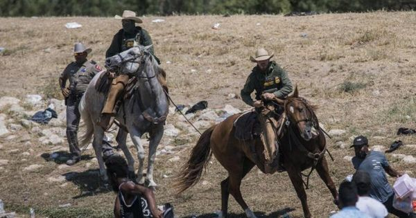 Biden empört über US-Grenzschützer - Migranten-Camp geräumt - Politik