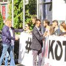 SzS i studenti aktivisti ispred RTS-a