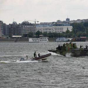 "Rečna flotila VS kod Ušća uspešno ""eliminisala teroriste"""