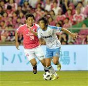 磐田・中村「今日は試合を落ち着かせた」 久々に先発、名波監督は評価の代表サムネイル