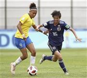 U-17女子日本、W杯初戦はブラジルと引き分けの代表サムネイル