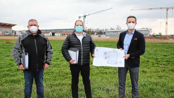 Freie Bahn für den Neubau der Firma EHG in Heubach
