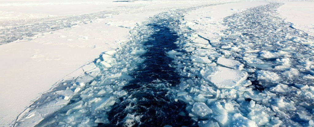 A Weather Buoy Near the North Pole Just Hit Melting Point