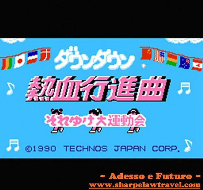 我的最愛經典紅白機遊戲。TECHNOS熱血系列: 熱血行進曲&熱血時代劇