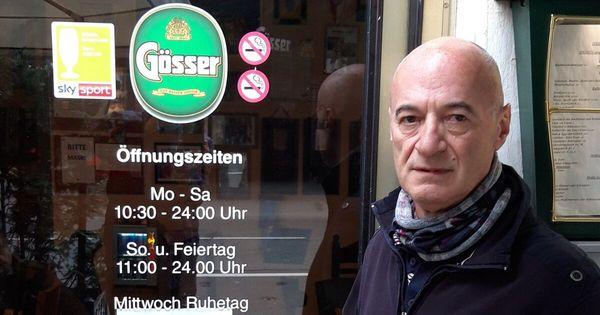 Café in der Stadt Salzburg und wohnhaft in Kuchl: Einen Wirt trifft's doppelt hart
