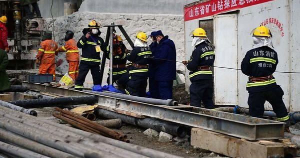 Elf Bergleute in China nach zwei Wochen gerettet