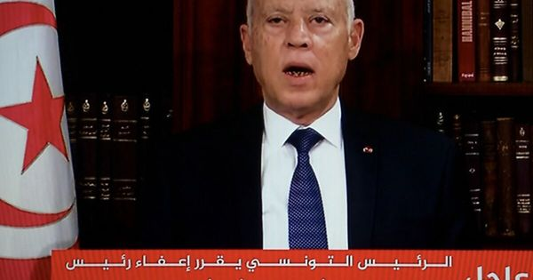 Tunesiens Präsident setzte Premier ab, suspendiert Parlament