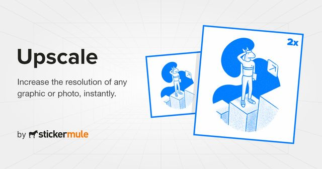 Upscale – 免费在线 AI 重绘放大图片工具