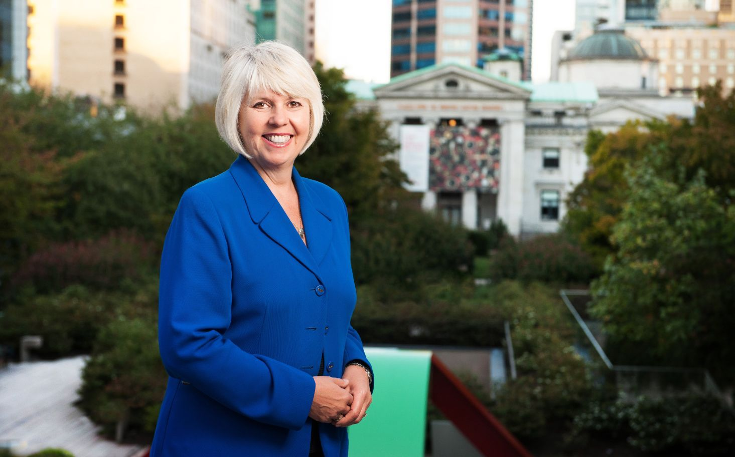 Adriane Carr and Andrea Reimer see eye-to-eye on the Kinder Morgan pipeline