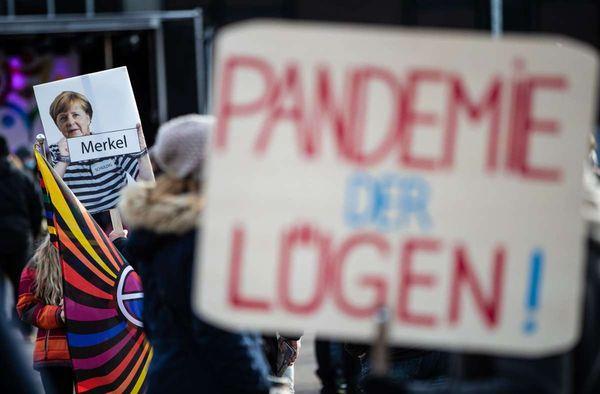 """""""Querdenken""""-Demos in Mannheim: Gericht verbietet Kundgebungen"""