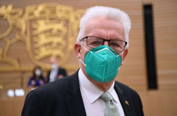 Baden-Württemberg: Ministerpräsident Winfried Kretschmann wiedergewählt