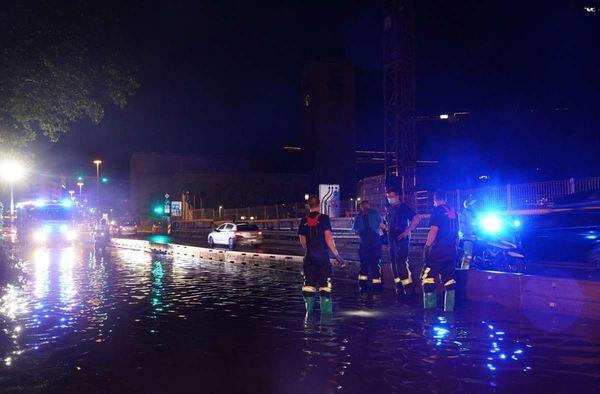Unwetter in Baden-Württemberg: So verlief die Nacht in Stuttgart und der Region