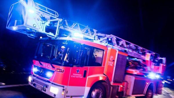 Brand in Klinik: Patient soll Feuer gelegt haben