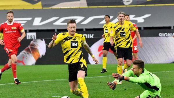 Sieg gegen Union: Dortmund bleibt im Rennen um Europa