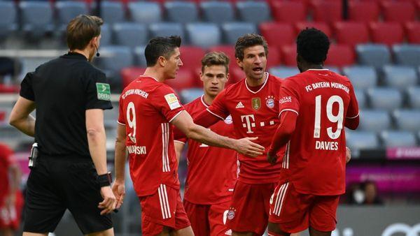 FC Bayern gegen Köln: Thomas Müller macht Wind