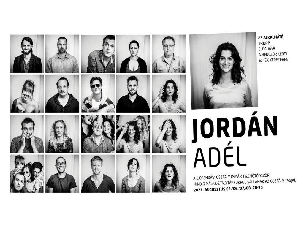 AlkalMáté Trupp: JORDÁN ADÉL